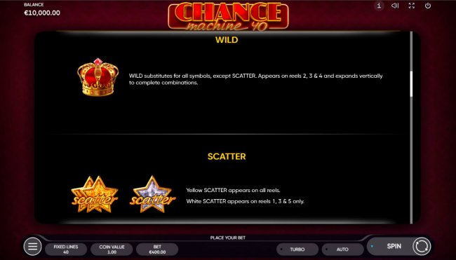 Free Slots 247 - Wild and Scatter Rules