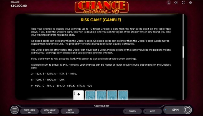 Gamble feature by Free Slots 247