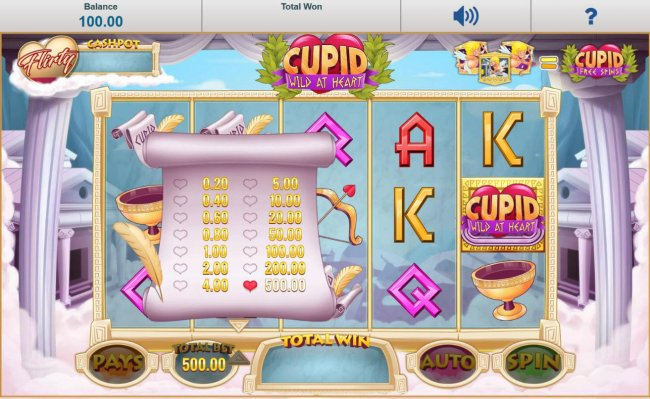 Cupid Wild at Heart by Free Slots 247