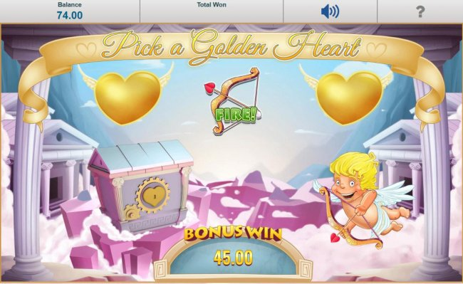 Free Slots 247 - Select 1 of 3 golden hearts hearts. When a bow and arrow is revealed Cupid will shoot his arrow into the treasure chest, thus unlocking it and revealing a cash prize.