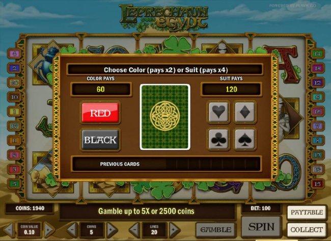 Leprechaun goes Egypt screenshot
