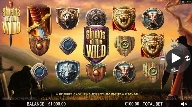 Images of Shields of the Wild