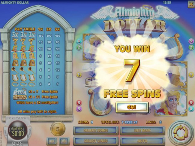 Free Slots 247 image of Almighty Dollar