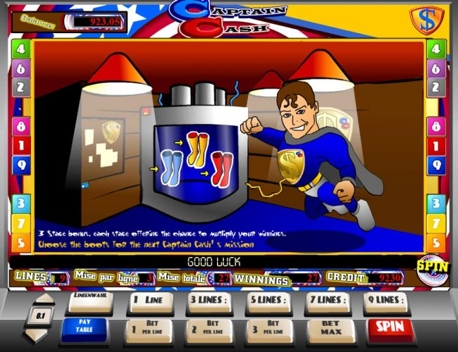 Captain Cash by Free Slots 247