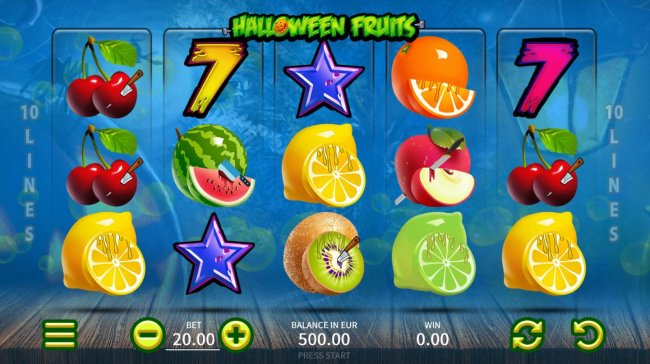 Halloween Fruits screenshot