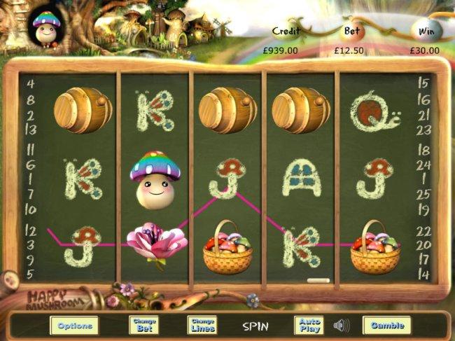 Happy Mushroom by Free Slots 247