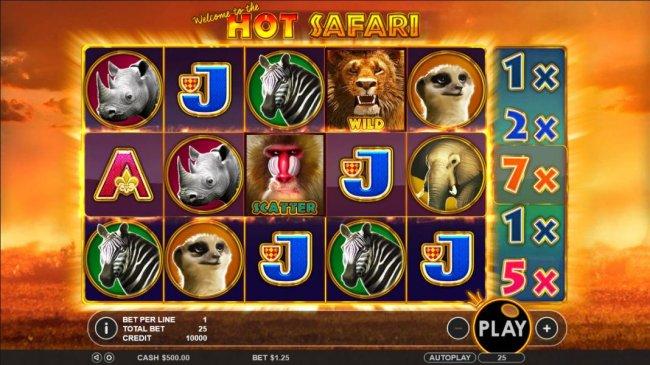 Hot Safari by Free Slots 247