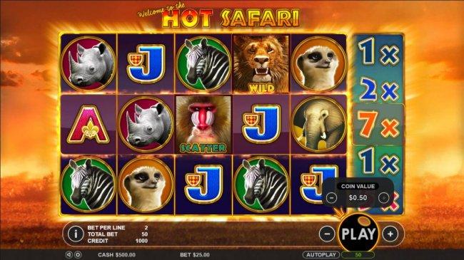 Hot Safari screenshot