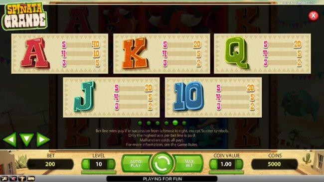 Spinata Grande by Free Slots 247