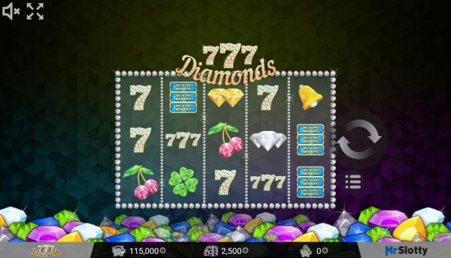Main game board featuring five reels and 25 paylines with a $200,000 max payout. - Free Slots 247