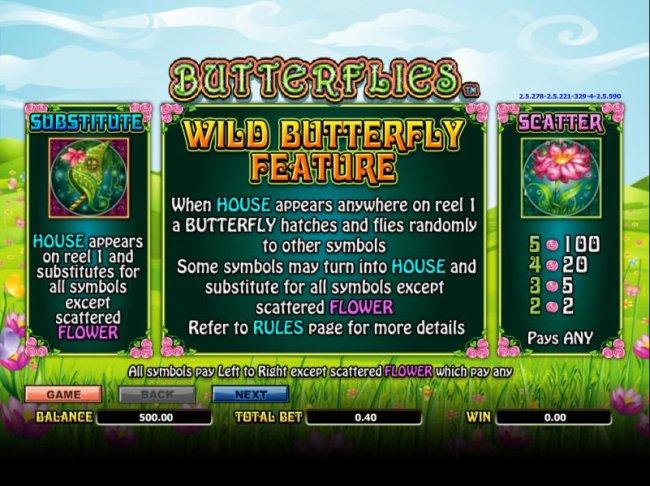 Butterflies by Free Slots 247