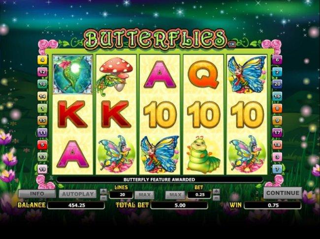 Free Slots 247 image of Butterflies