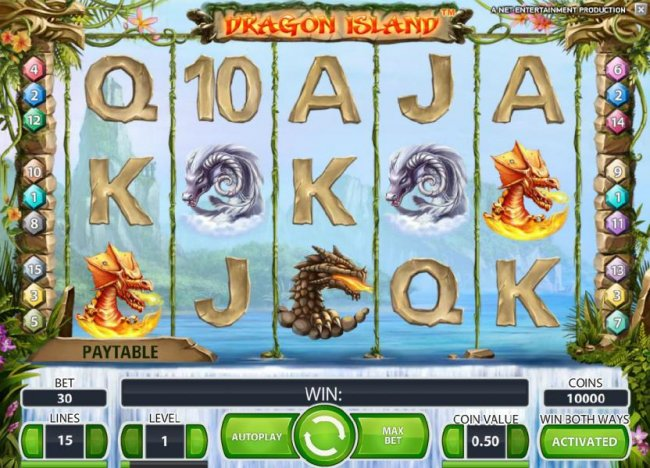 Free Slots 247 image of Dragon Island