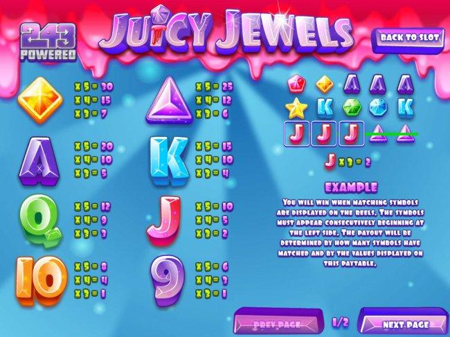 Juicy Jewels by Free Slots 247