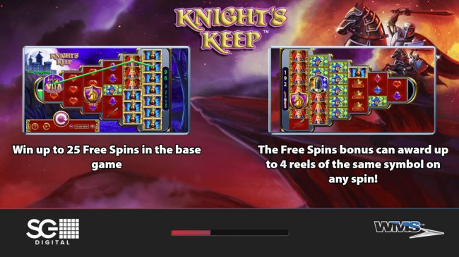 Free Slots 247 image of Knight's Keep