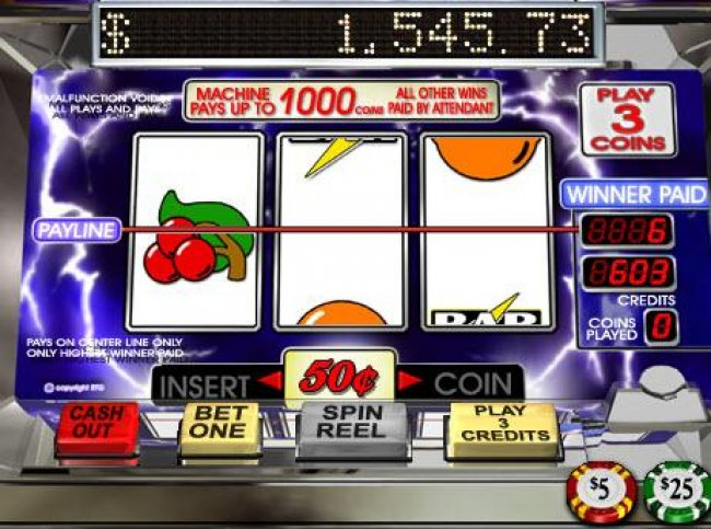 Free Slots 247 image of Lucky Lightnin'