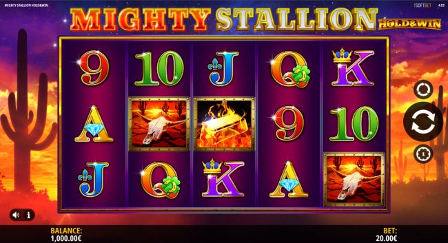 Free Slots 247 image of Mighty Stallion Hold & Spin