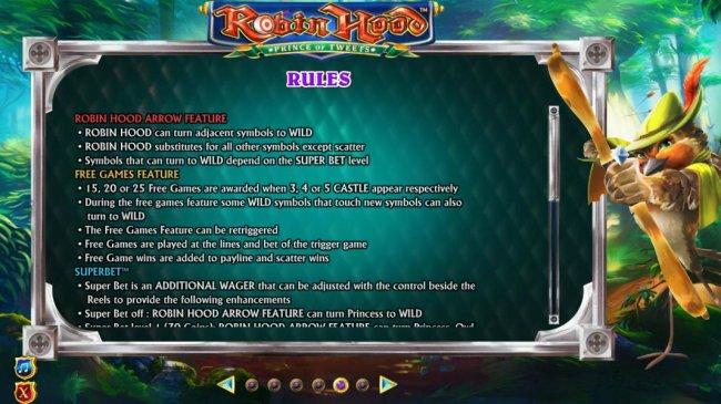 Robin Hood Prince of Tweets by Free Slots 247