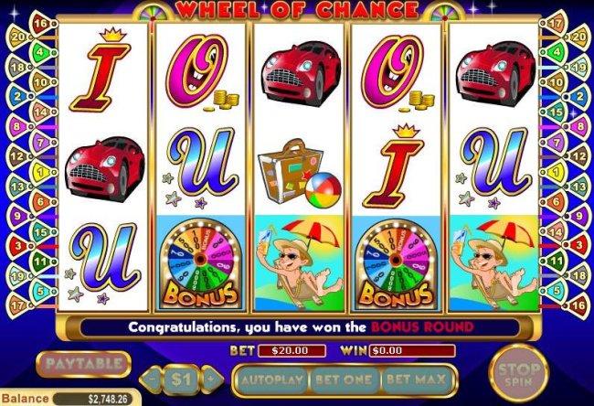Free Slots 247 image of Wheel of Chance 5 Reel