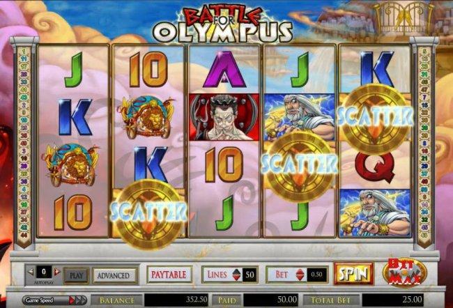 Battle for Olympus screenshot