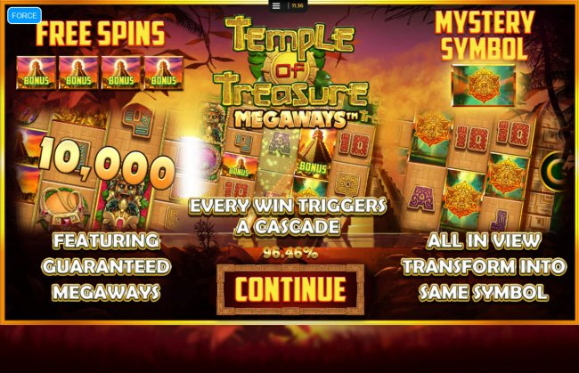 Images of Temple of Treasure Megaways