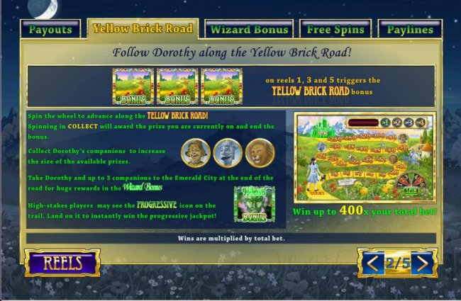 The Winnings of OZ screenshot