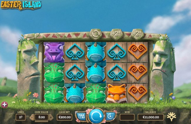 Free Slots 247 image of Easter Island