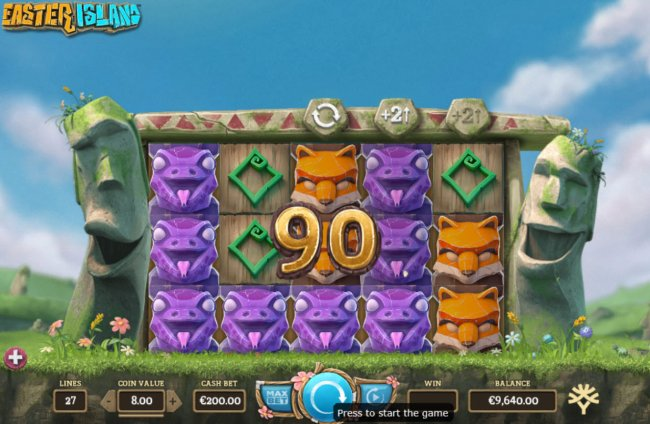 Easter Island by Free Slots 247
