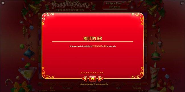 Naughty Santa Milk & Cookies by Free Slots 247