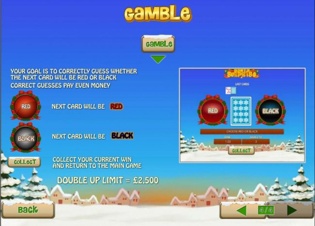this game has a gamble feature that is available after each win - Free Slots 247