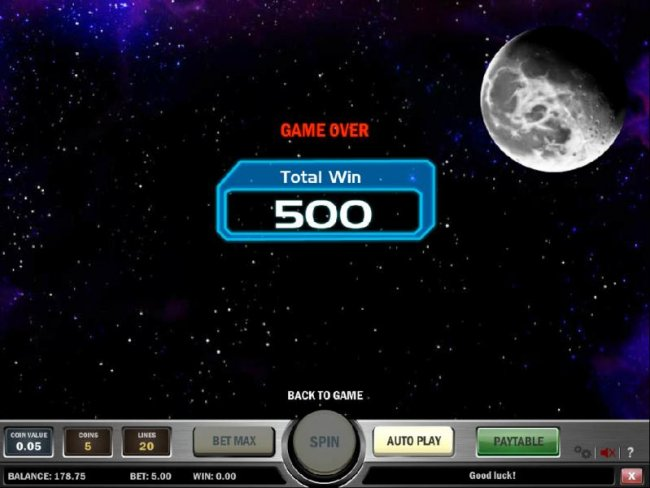 Space Race screenshot