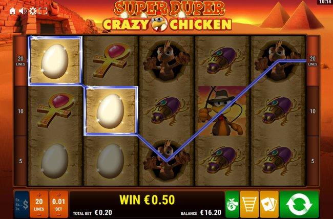Super Duper Crazy Chicken by Free Slots 247
