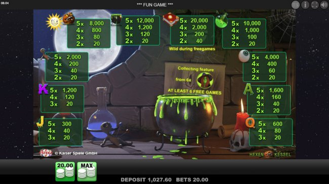 Free Slots 247 image of Hexen Kessel