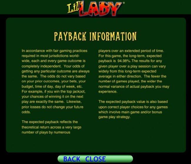 Lil' Lady screenshot
