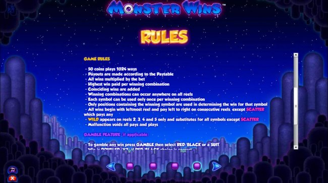 Free Slots 247 image of Monster Wins