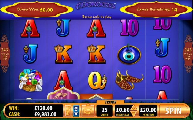 Free Slots 247 - free spins game board