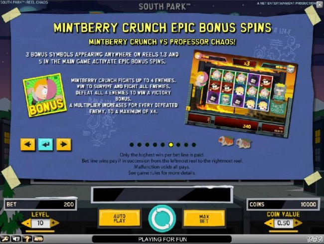 Mintberry Crunch Epic Bonus Spins Feature Rules - Free Slots 247