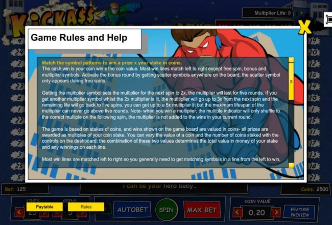 Game Rules and Help - Part 1 - Free Slots 247