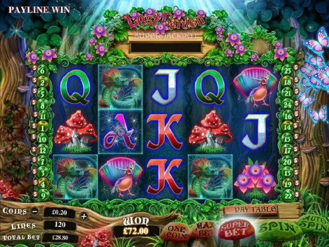 3 scatter symbols pays out 3 times your line bet - Free Slots 247