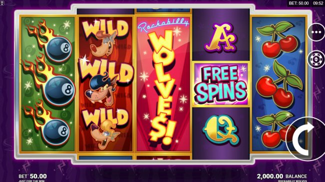 Free Slots 247 image of Rockabilly Wolves