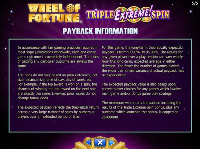 Free Slots 247 image of Wheel of Fortune Triple Extreme Spin