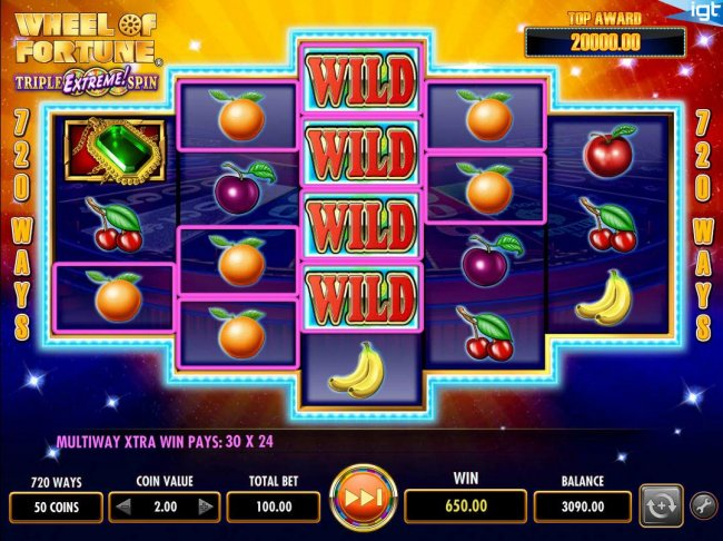 Wheel of Fortune Triple Extreme Spin by Free Slots 247