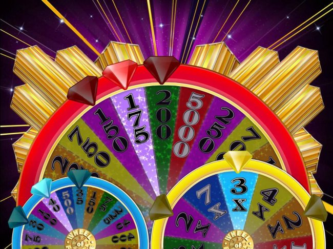 Corresponding picks from previous screen indicate the prizes awarded after the bonus wheels stop spinning. - Free Slots 247
