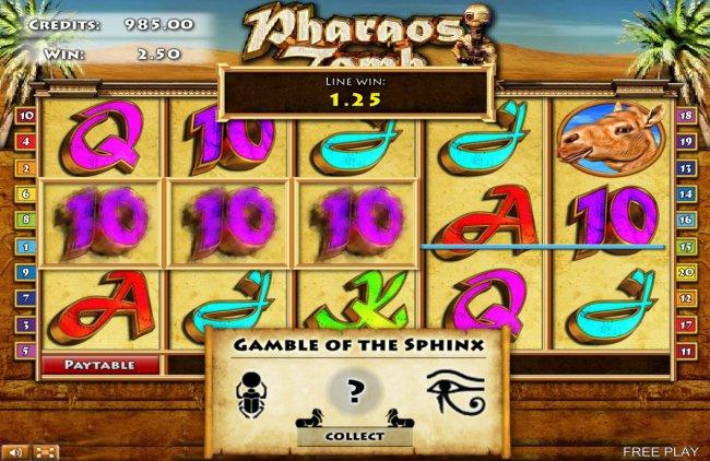 Pharaos Tomb screenshot