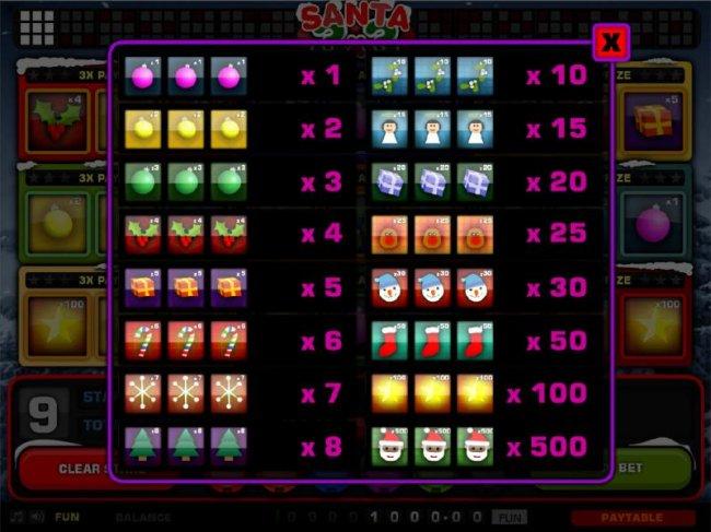 Santa 3x3 screenshot
