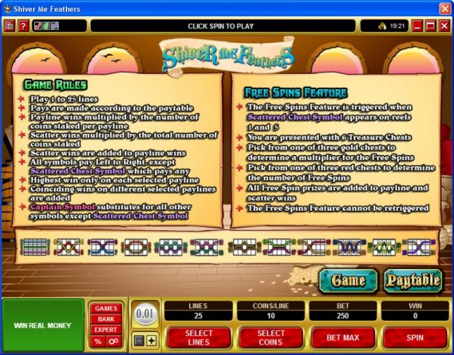 Free Slots 247 image of Shiver Me Feathers
