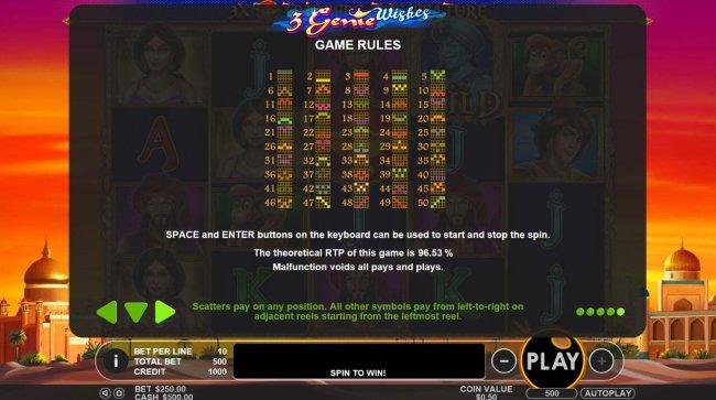 3 Genie Wishes by Free Slots 247
