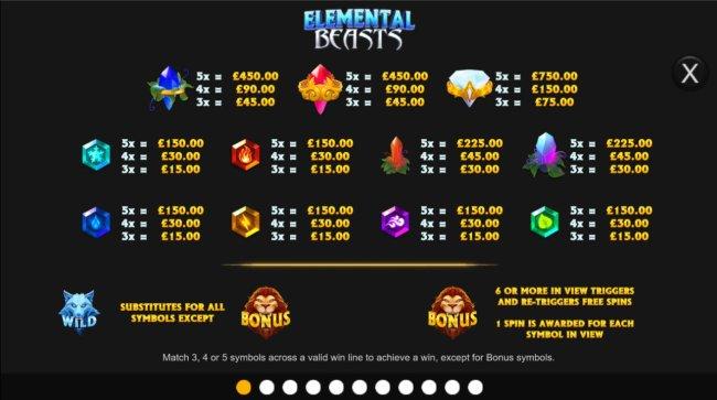 Elemental Beasts by Free Slots 247