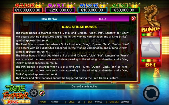 Jade Emperor King Strike screenshot