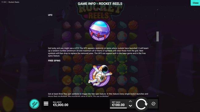 Rocket Reels screenshot